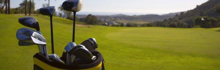 golfen, spanje, vakantie
