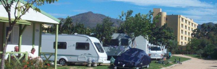 camping, accomodatie, spanje, vakantie