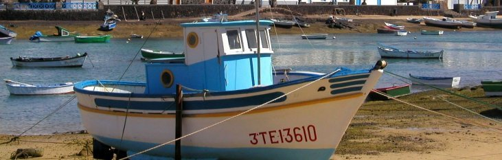 lanzarote, boot, haven