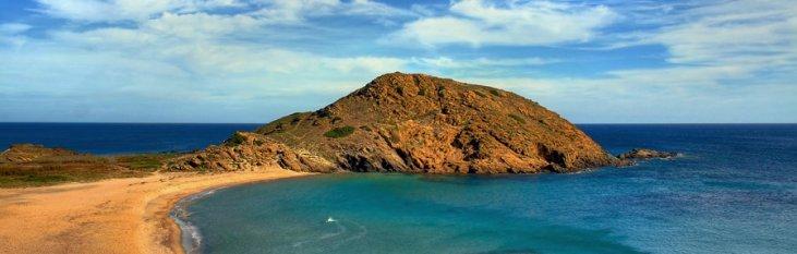 strand, zee, menorca