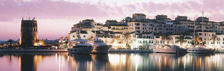 marbella, puerto, banus, vakantie