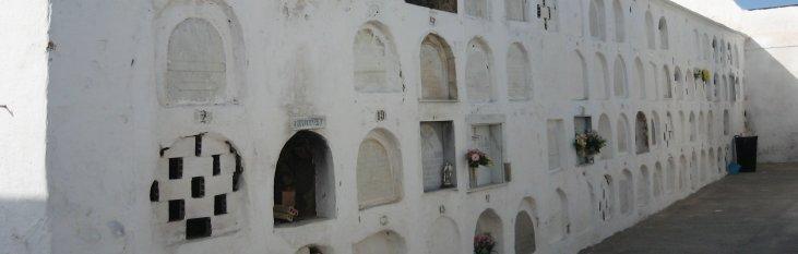 san antonio abad, muur, crematie