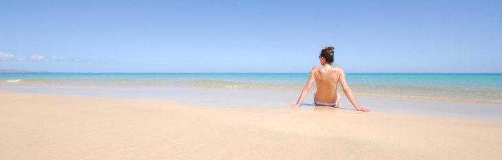 strand, zee, fuerteventura