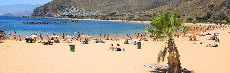 strand, tenerife, canarische, eilanden