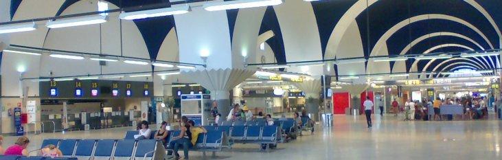 san, pablo, airport, sevilla